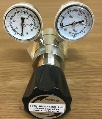 Regulador de presión para cilindros totalmente de acero inoxidable
