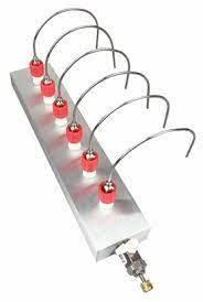 Evaporador Concentrador de muestras para 6 viales